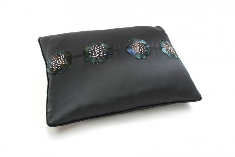 Speckled Flower Cushion